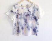 Hand Dyed Drippy Glaze T-shirt - M/L