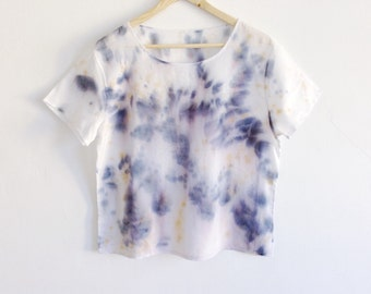 Hand Dyed Drippy Glaze T-shirt - M/L