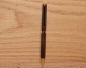 Walnut Writing Pen, Handmade Pen, Handcrafted Pen, D171