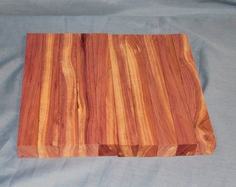 10 Eastern Red Cedar Wood Turning Blanks for Sale, Wood Blanks, Turning Blanks, Pen Blanks, D188