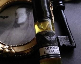 Ghosts & Haunts  1/3oz rollon Natural Fall Perfume Cedarwood, Apple, Chamomile,Honey,Juniper,Frankincense, Spikendard, Sandalwood