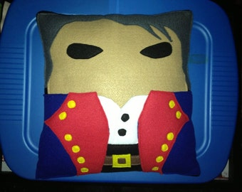 Jean Valjean Les Miserables Pillow