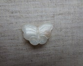 Beautiful vintage mother of pearl butterfly pin. 1 pin.