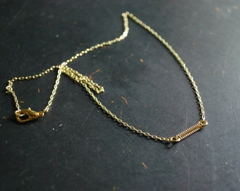 Free Shipping - Simple Bar Necklace