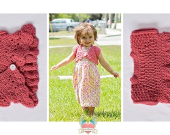 Lacey Butterfly Shrug/Cardigan (12-18 mos)