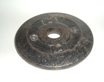 Barbell Weight 5 lbs Vintage HEALTHWAYS Man Cave Industrial Decor