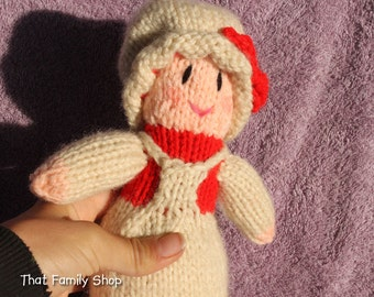 Mrs. Claus Doll Christmas Decoration / Toy, Mrs. Santa Claus Wife