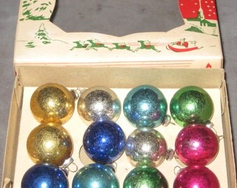 Dress Up Your Tree Great Boxed Set Small  Ball Ornaments
