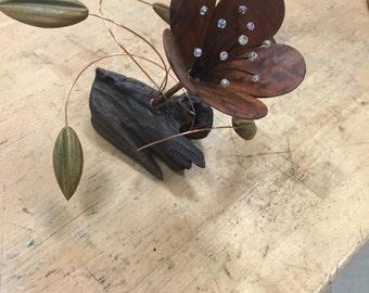 Handmade Wooden Flower