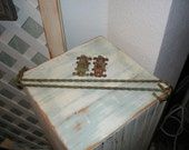 Antique Swing Arm Rods Cottage Iron Twist Scrolly French Bohemian Beauties Cafe Rods Kitchen Window Fun Shabby Rusty Green