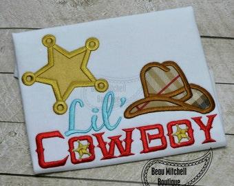 Lil' Cowboy applique