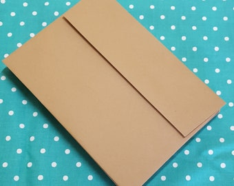 A7 Envelopes KRAFT Grocery Bag Type Set of 25 Stationery Supplies WINTER SALE
