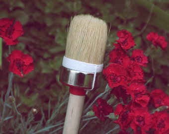 HQ Natural Bristle Brush for Paint or Wax