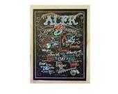 Chalkboard Birthday Sign - Birthday Chalkboard - chalk sign