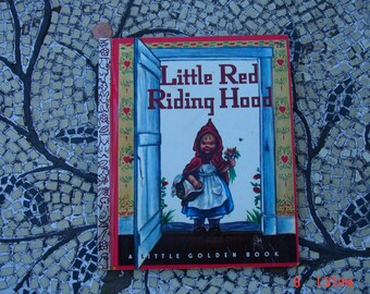 Little Red Riding Hood - a Little Golden Book - Great Condition - Clean no writing