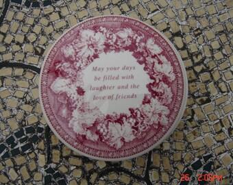 Vintage Spode Ironstone Trinket Lidded Box - Lovely for your BFF