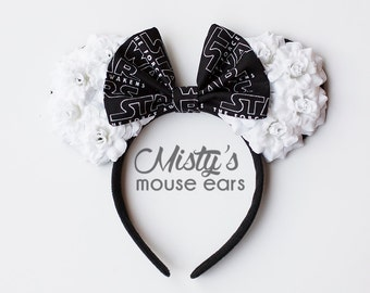 Star Wars Logo Rose Mouse Ears
