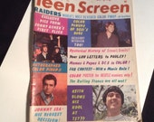 Teen Screen Magazine August 1966 Sonny and Cher beatles mamas and papas