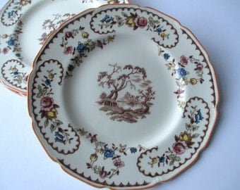 Vintage Royal Doulton The Beaufort Salad Plates Set of Four