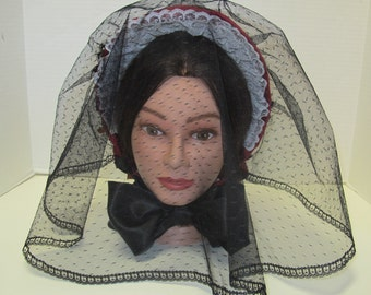 Civil War Fashion Veil - Copied From My Original - Affordable Elegance
