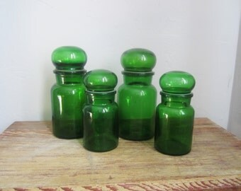 Vintage Belgium Jar Set