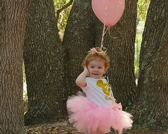 First Birthday, 1st Birthday Tutu Outfit, Minnie Mouse Birthday, 2nd Birthday, 1st Birthday, 3rd Birthday, 4th Birthday, 5th Birthday,