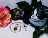 Unbreakable Chaplet of St. Gertrude of Nivelles - Patron St. of Cats, Travelers, Gardeners, Hospitals and Against Rats & Mental Illness