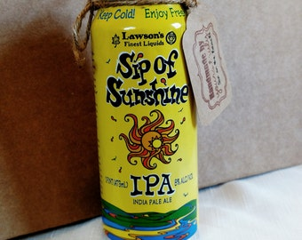 Beer Can Candle, Soy Wax Candle, Beer Can Candle, Lawsons, Sip Of Sunshine, Man Cave Gift, French Vanilla, Ready To Ship