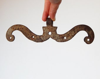 antique moustache hinge antique french metal mustache