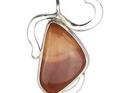 Rare Bruneau Jasper Pendant Set in Sterling Silver  pbrnf2692