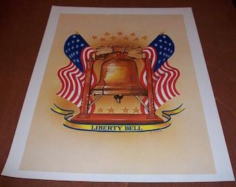 Patriotic Art Prints Set Of 3