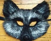 Silver Fox mask, fox mask, silver fox, fox costume, couple costume,
