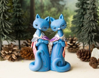 Freyja's Blue Cats by Bonjour Poupette