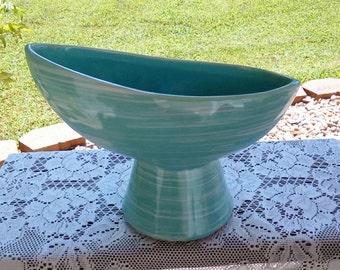 "Vintage 1960s McCoy ""Harmony"" Mid Century Modern Pottery Planter"
