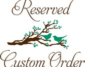 Custom order forAna