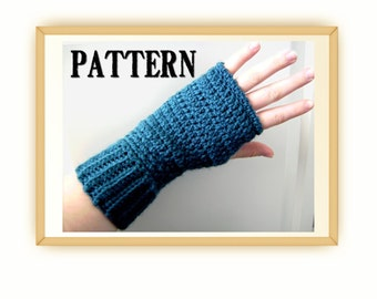 Crochet Fingerless Gloves Pattern - Wear them three ways