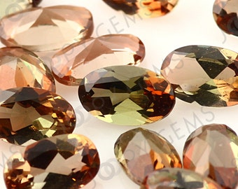 Andalusite Mixed Cut Gemstone 3x5mm Oval - 1 stone