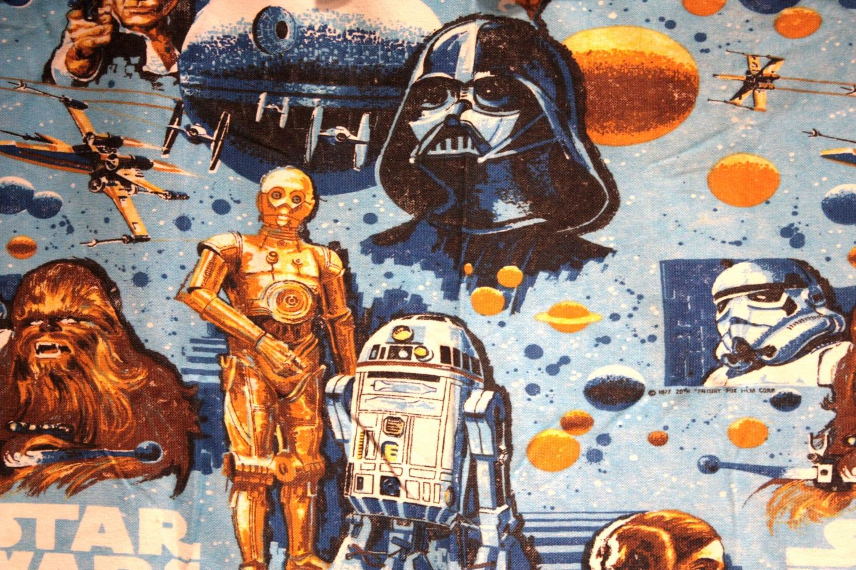 1979 Star Wars Curtain Panel 70s 80s Memorabilia George