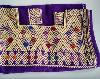 CHIAPAS EMBROIDERED short sleeve blouse