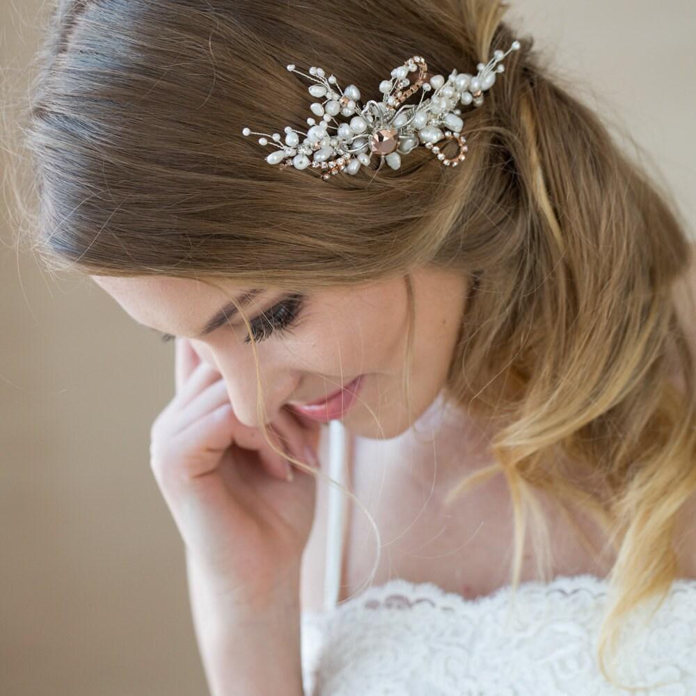 Pearl Wedding Hair Accessories Wedding Hair Comb Bridal Hair