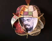 Allman Brothers Band Album Cover Ornament Made Of Record Jackets