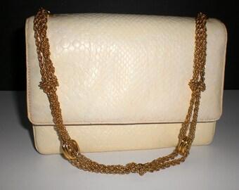 SALE Vintage leather handbag, Morris Moskowitz, Petite, clutch,mini bag