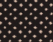 Nate Berkus Desi Obsidian black ikat ogee diamond decorative designer pillow cover