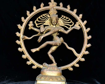 Shiva Dancing as Nataraja, The Lord of the Dance
