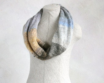 Lavender Honey - infinity scarf, shoulder wrap or double cowl
