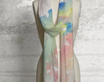Soft colors scarf