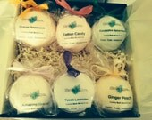 Gift Box with as many BOGO bath bombs that looks nice for man, woman, children.