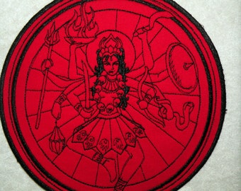 "Kali Iron on Patch, 4"", 5.2"" & 7.9"""