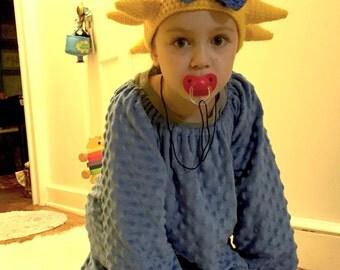 Crochet  Maggie Simpson costume-crochet  Maggie simpson wig-Halloween Costume Ideas-night costumes