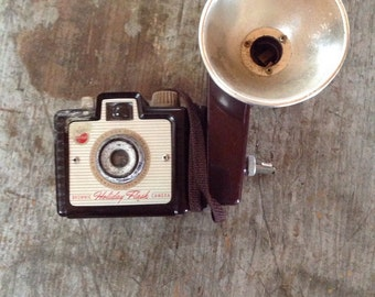 Vintage Kodak Brownie Holiday Flash Camera